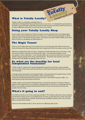 What is Totally Locally?